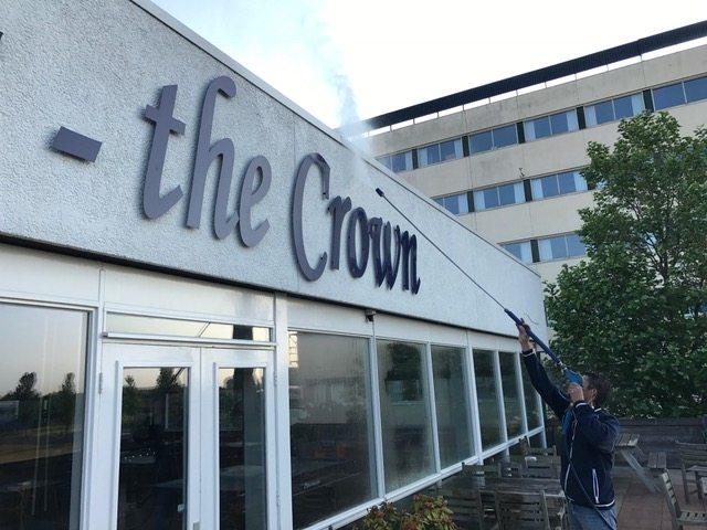 GROOT ONDERHOUD GEVELS, Crown Plaza Haarlem